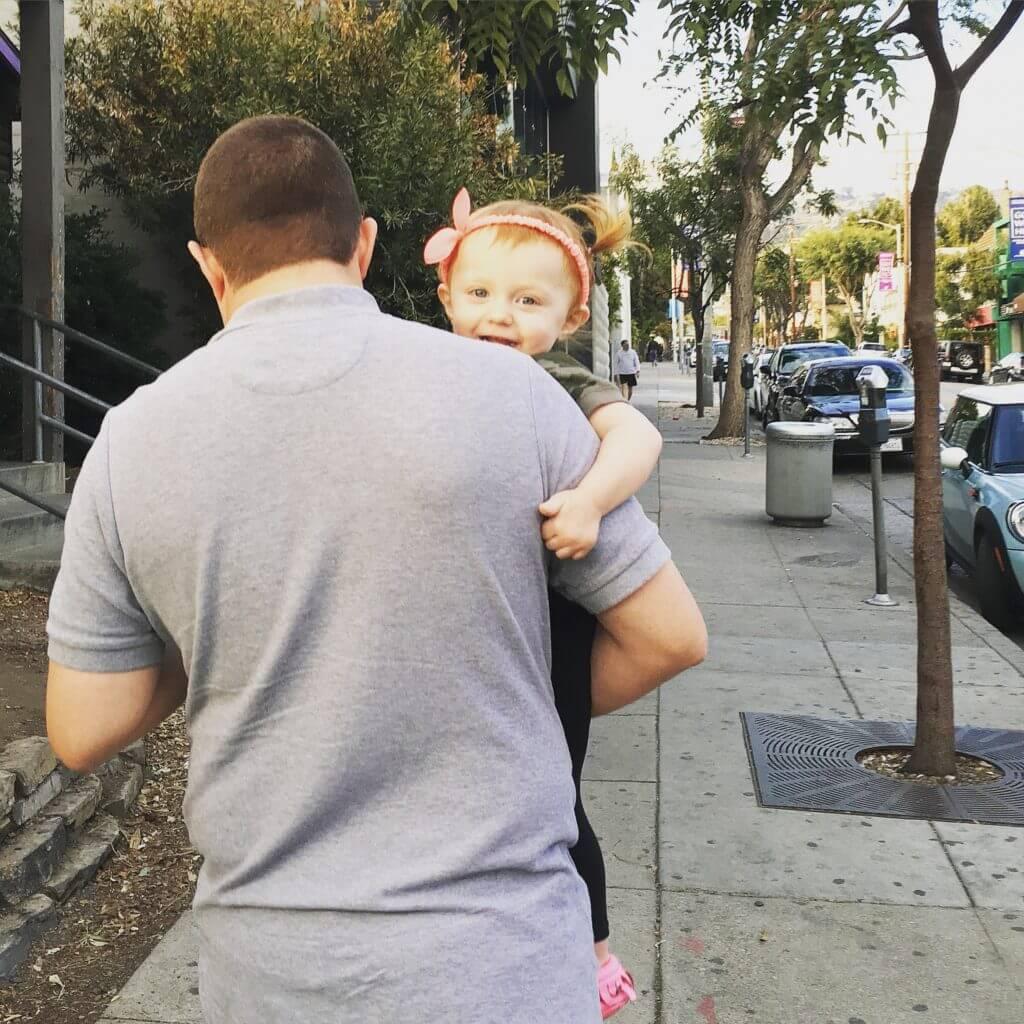 Jason and Blaire in LA