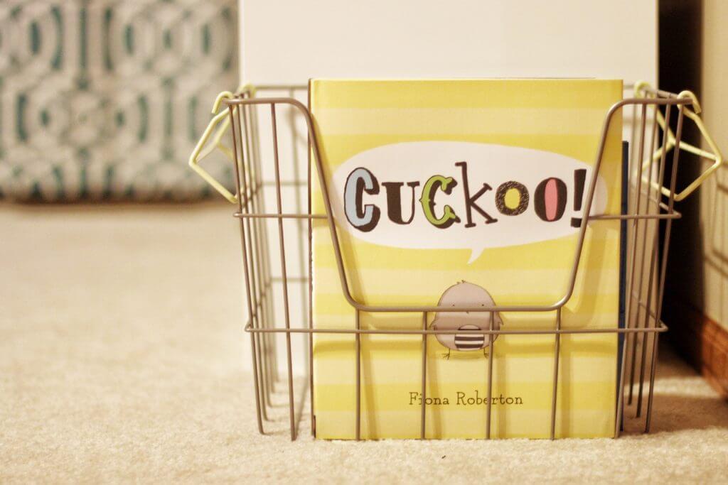 Organizing Books in Basket
