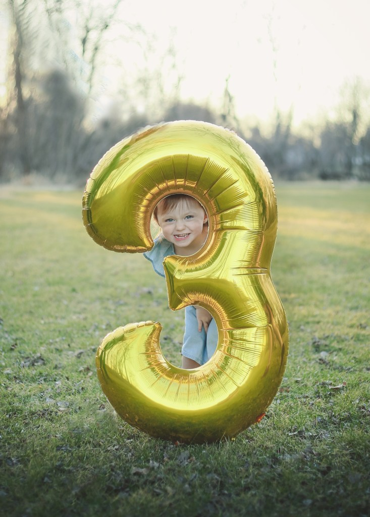 Blaire is 3!