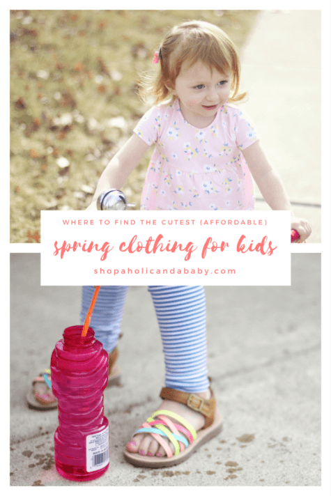 Where to Find Cute, Affordable Spring Clothing for Kids