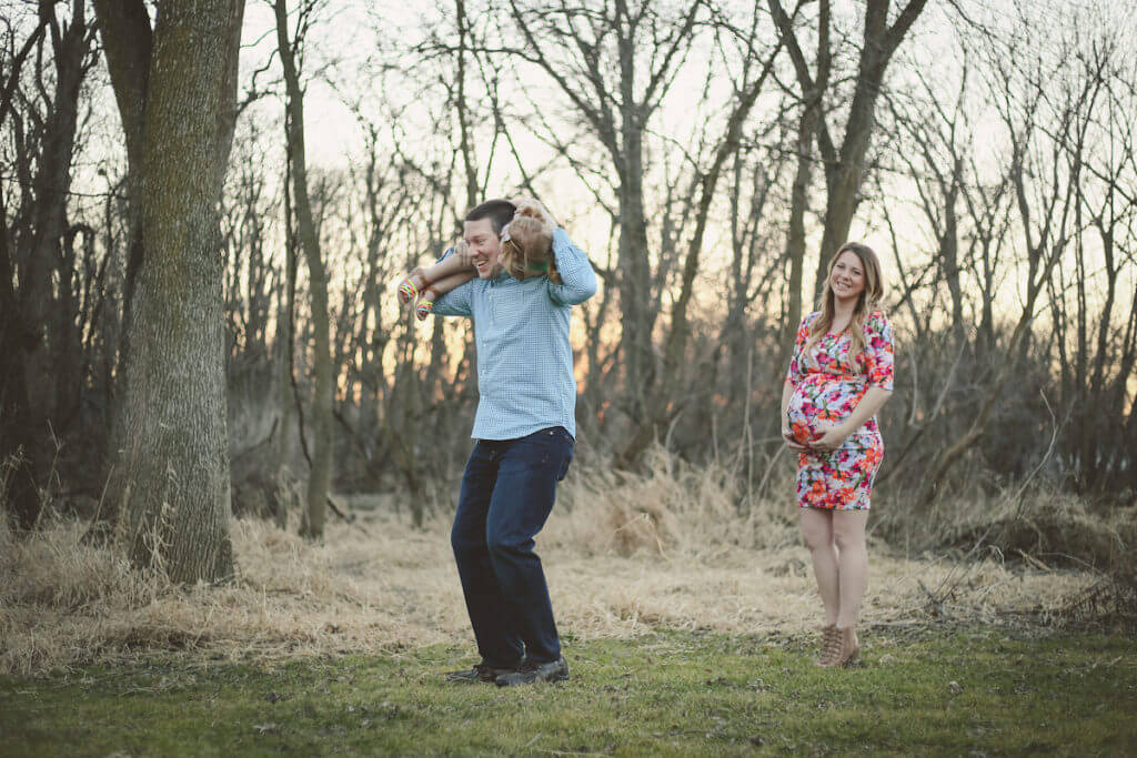 Family Maternity Photo