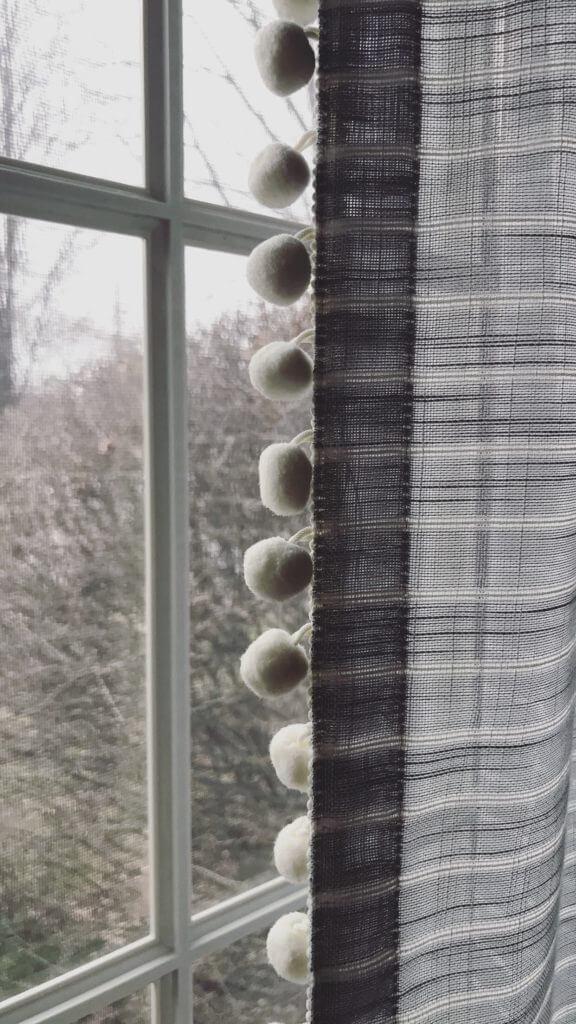 Pom Pom Curtains