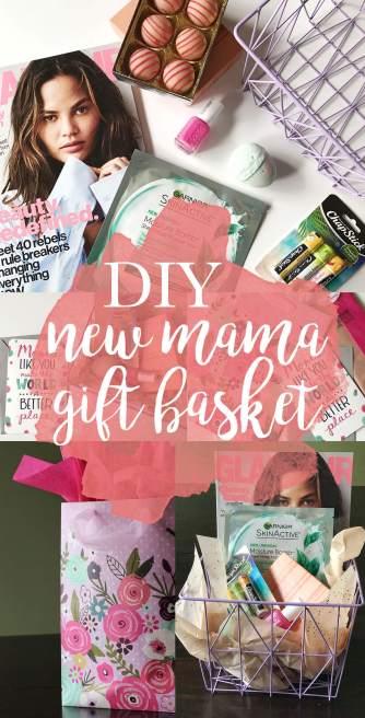 DIY New Mama Gift Basket