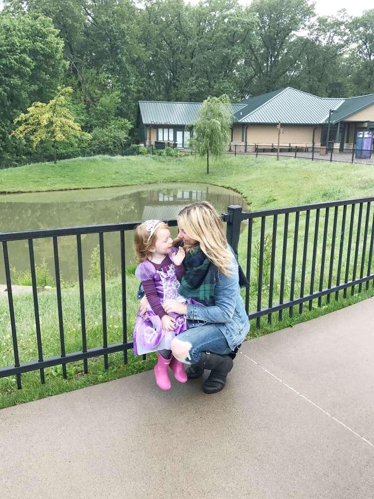 Princess Day at the Zoo