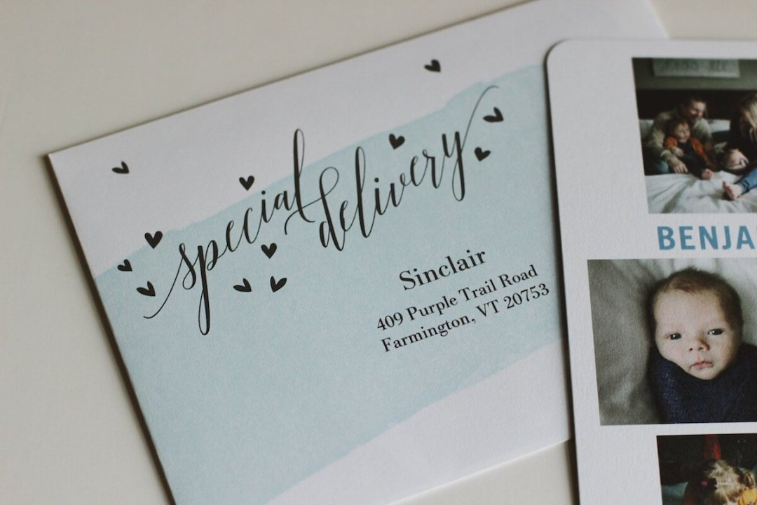 Tiny Prints Birth Announcements