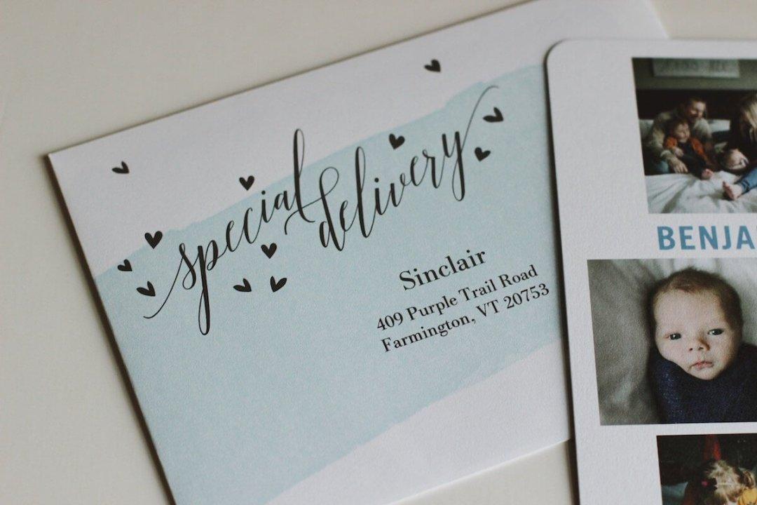 Tiny Prints Birth Announcements