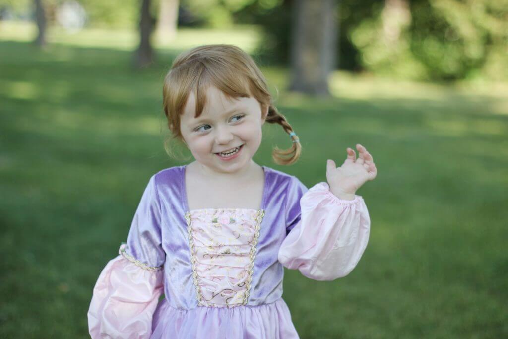 Deluxe Rapunzel Little Adventures Dress