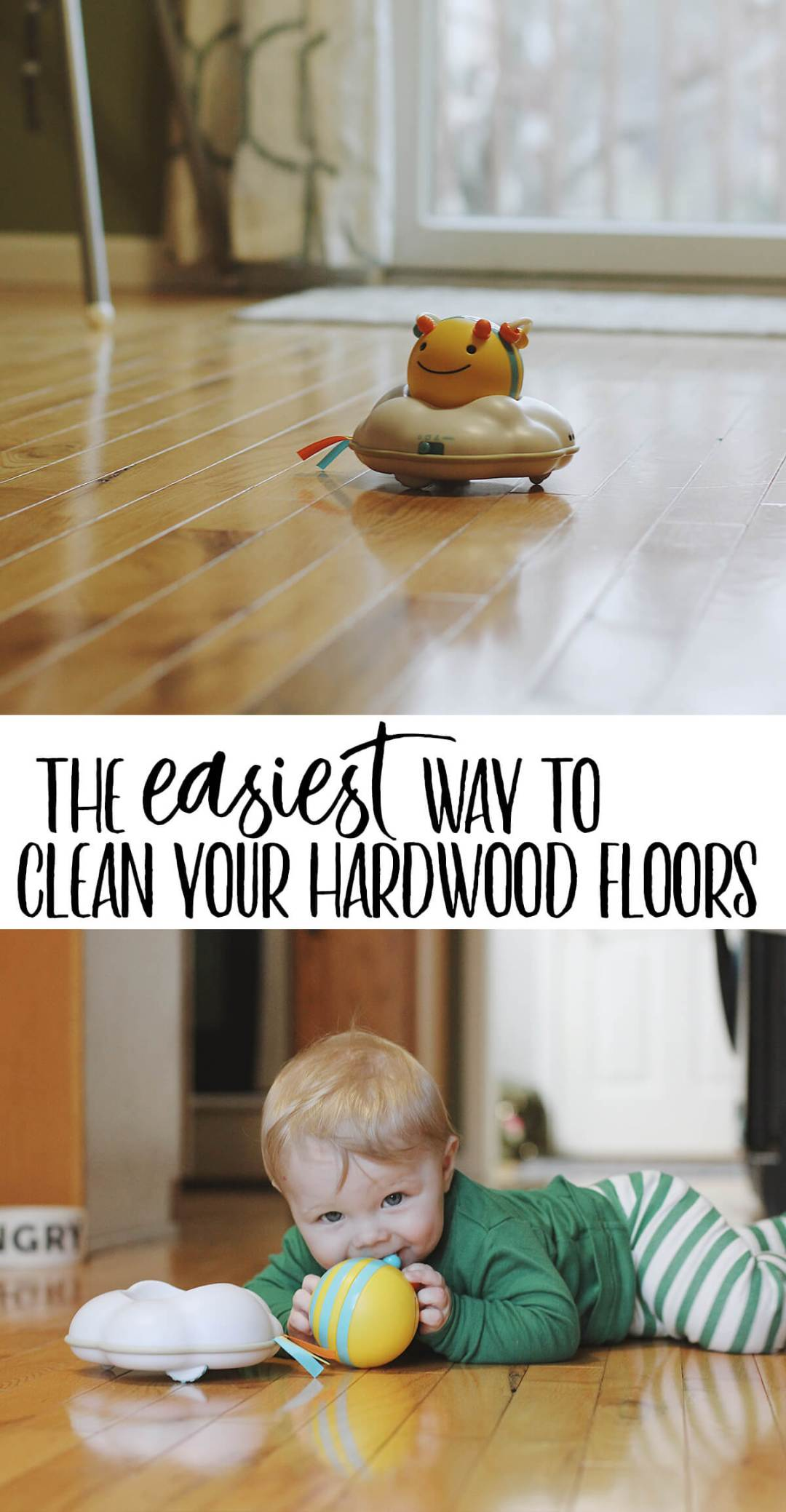 The Easiest Way to Clean Your Hardwood Floors