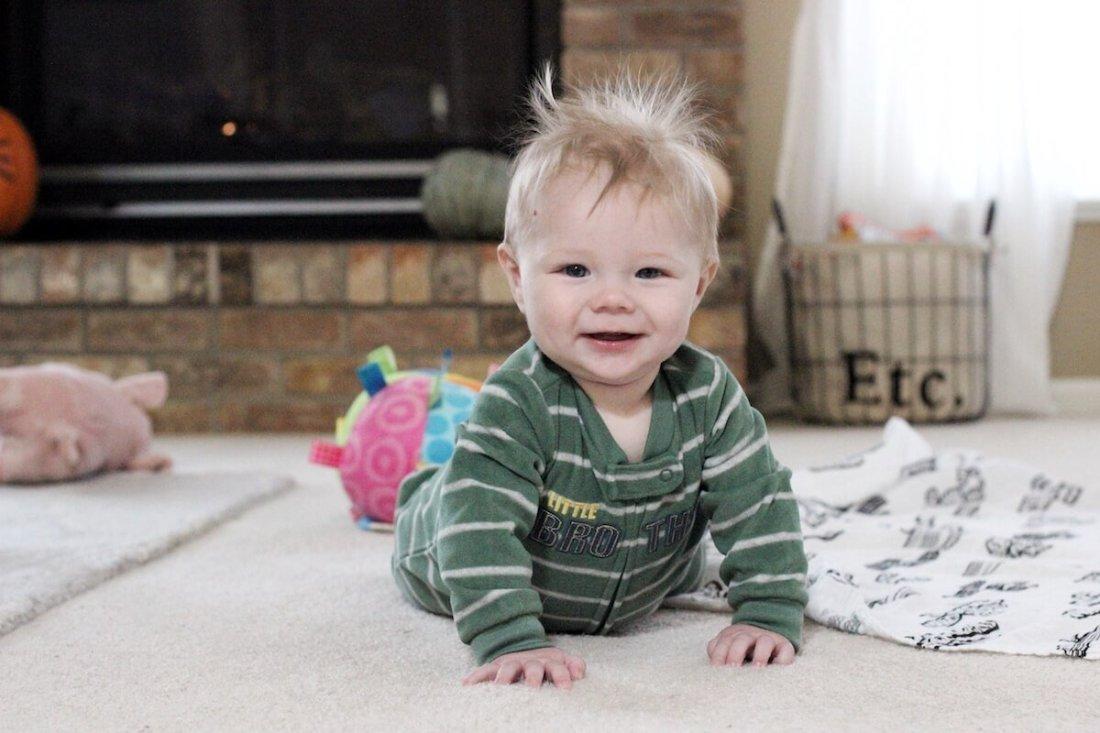 Ben, 8 months old