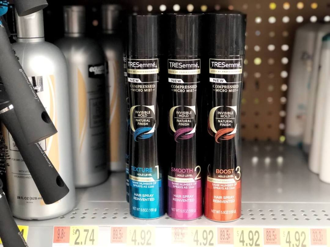Tresemmé Micro Mist Hairsprays at Walmart