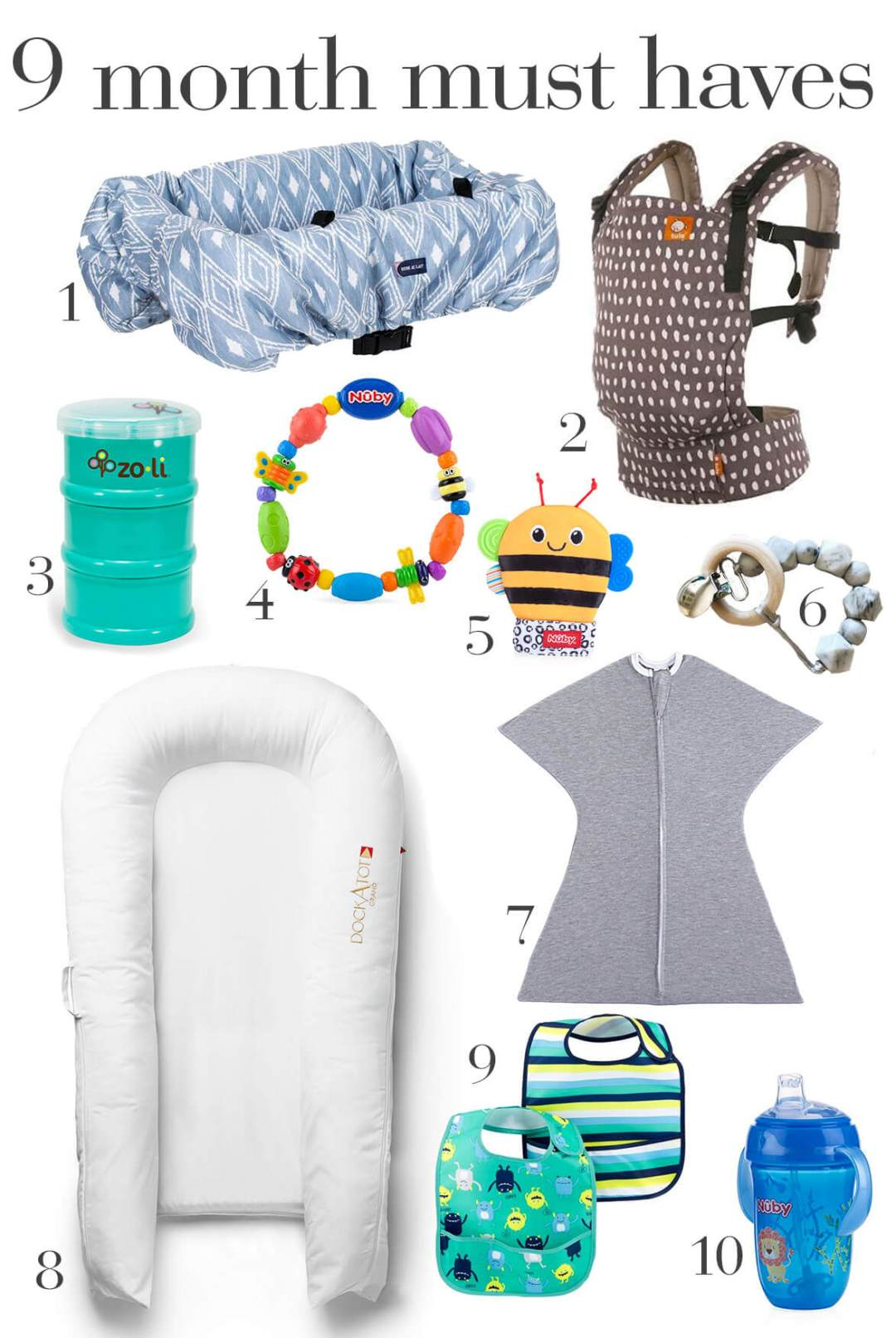 9 Month Old Baby Must Haves