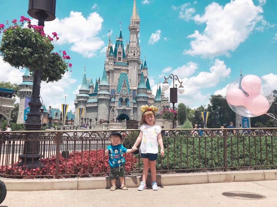 Blaire and Ben at Magic Kingdom