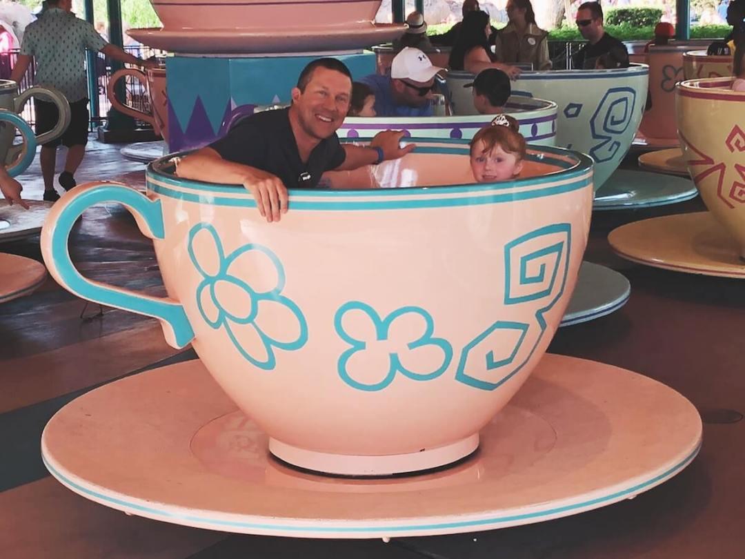 Mad Tea Party at Walt Disney World's Magic Kingdom