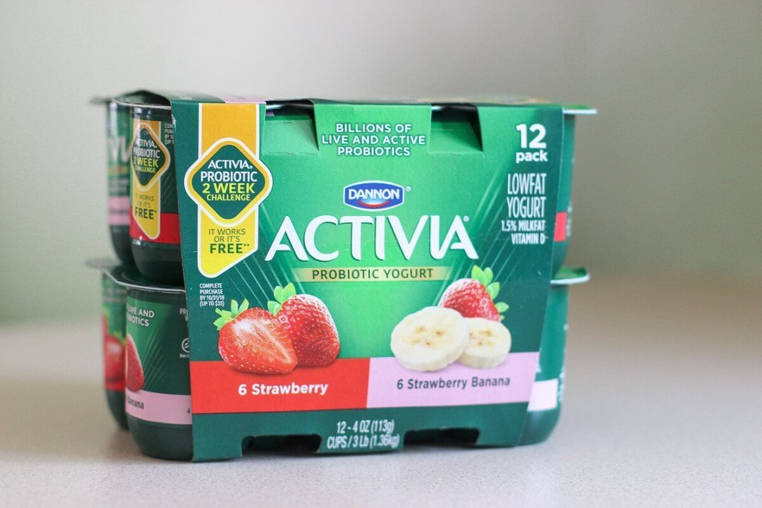 Activia Probiotic Yogurt