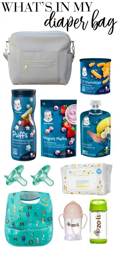 what's in my diaper bag with kids ages 1 and 4