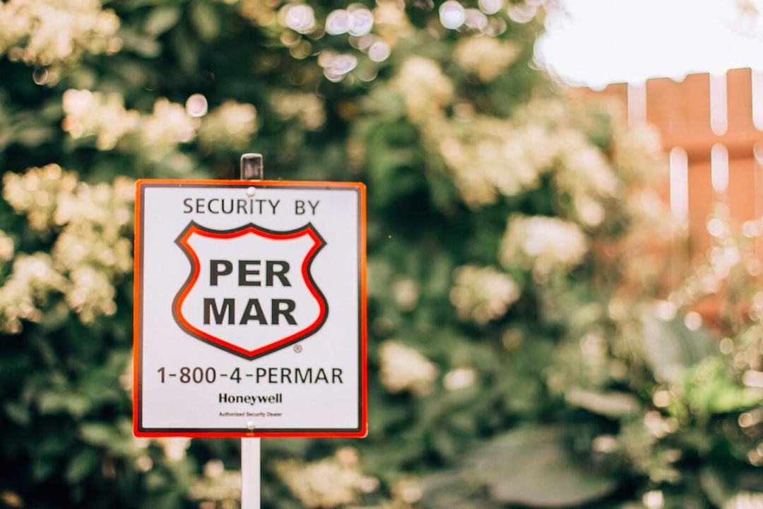 Per Mar Home Security Sign