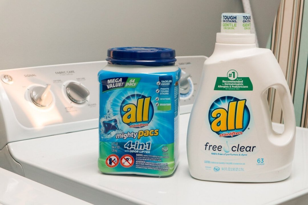 all® free clear and all® mighty pacs