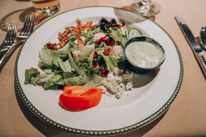 The Woodlands Restaurant at Eagle Ridge in Galena, IL - Salad