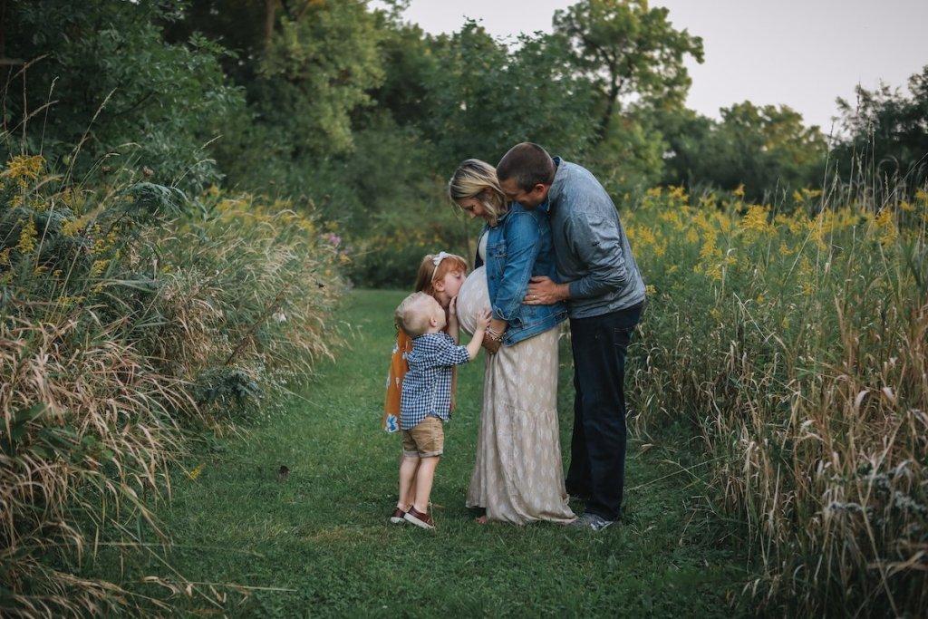 Fall Family Photos | Fall Family Maternity Photos