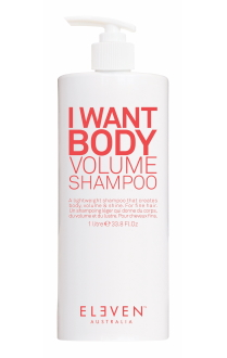 Eleven Australia I Want Body Volume shampoo 1L
