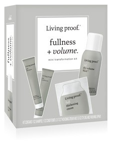 Living proof Fullness + Volume travel kit