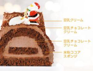 セブンイレブンのアレルギー対応クリスマスケーキ