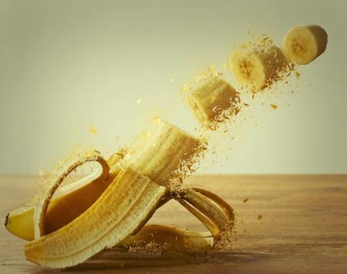 バナナ 皮 毒性