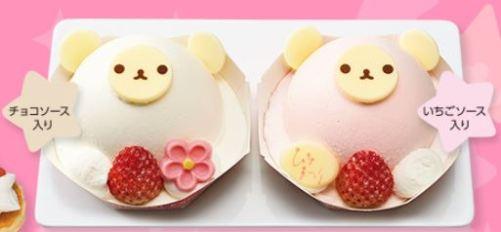 くまさんケーキ2個