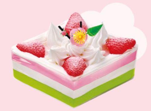 菱ショートケーキ
