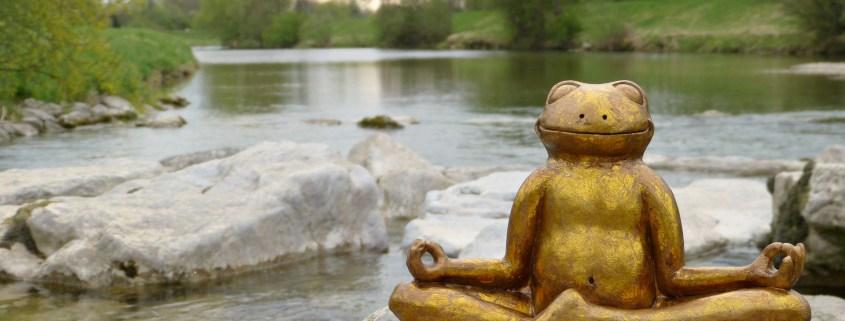 Meditation für Lächeln