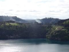 Au lac volcanique Mount Gambier