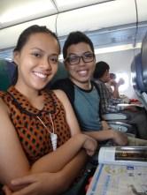 Airplane seatmates!