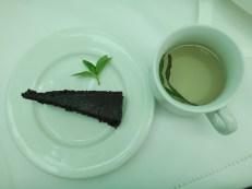 Homemade Chocolate Cake and Tarragon Tea