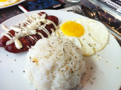 Hungarian Sausage Meal, Php 95.00