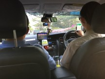 First time to take a Taxi