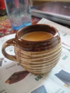 That's what I call, my cup of tea..