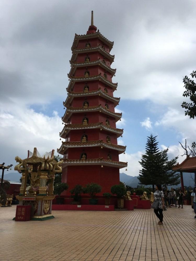 The nine storey Pagoda