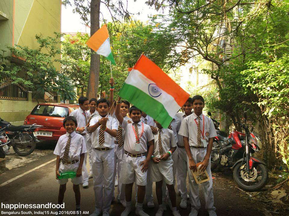 Independence day in pictures