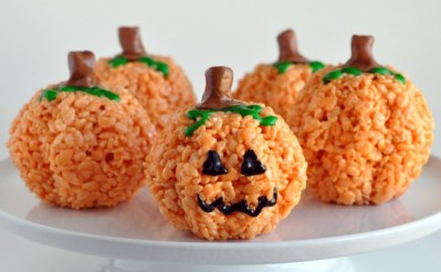 Halloween-treats-pumpkin-rice-crispies