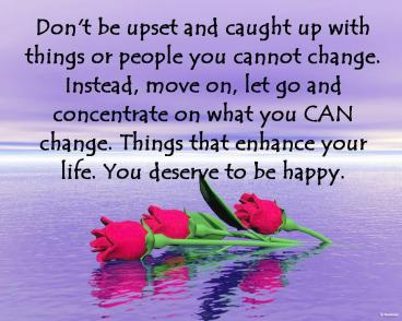 Change What You Can and Accept the Rest
