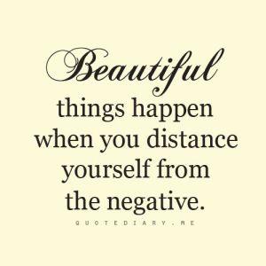 Elimate the Negative