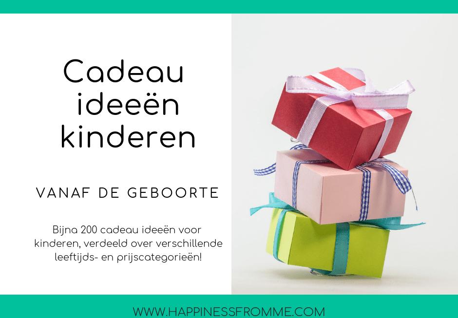 Favoriete Cadeau ideeën voor kinderen - Happinessfromme &IN07