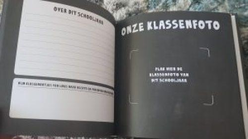 Schoolfotoboek invulboek KusTerug
