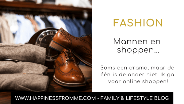 Mannen en shoppen…