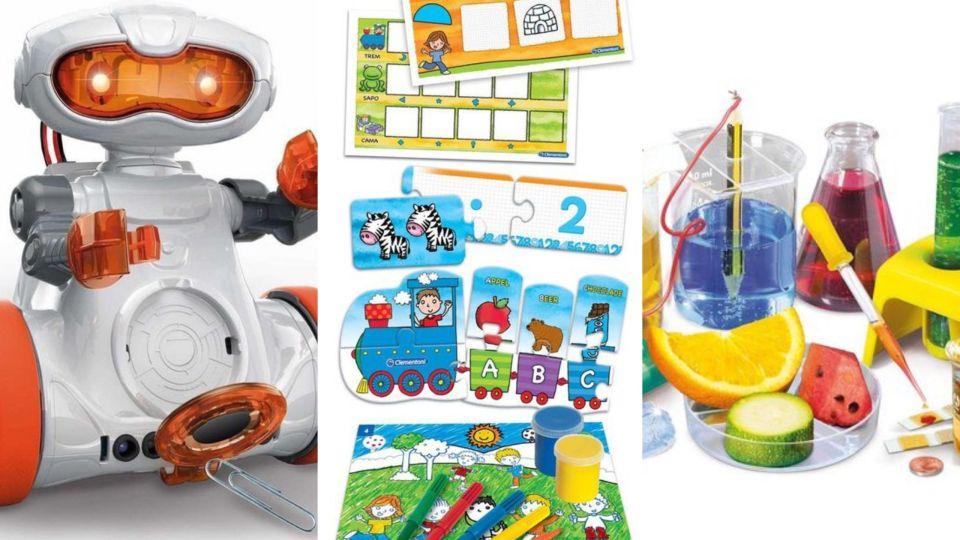 Leren leuk maken Check dit speelgoed! - Clementoni