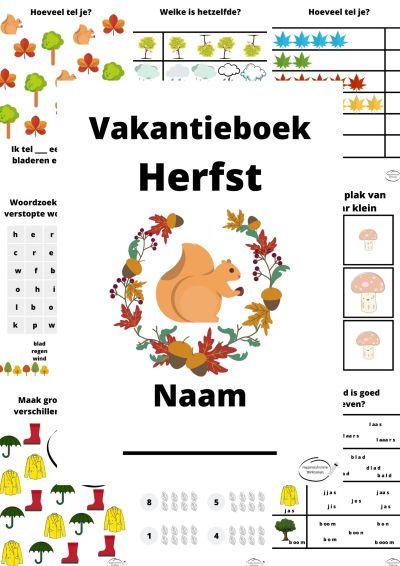 Vakantieboek Herfst