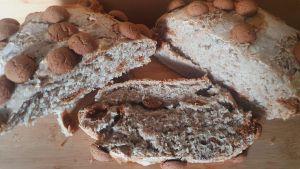 kruidnoten brood uit de slowcooker