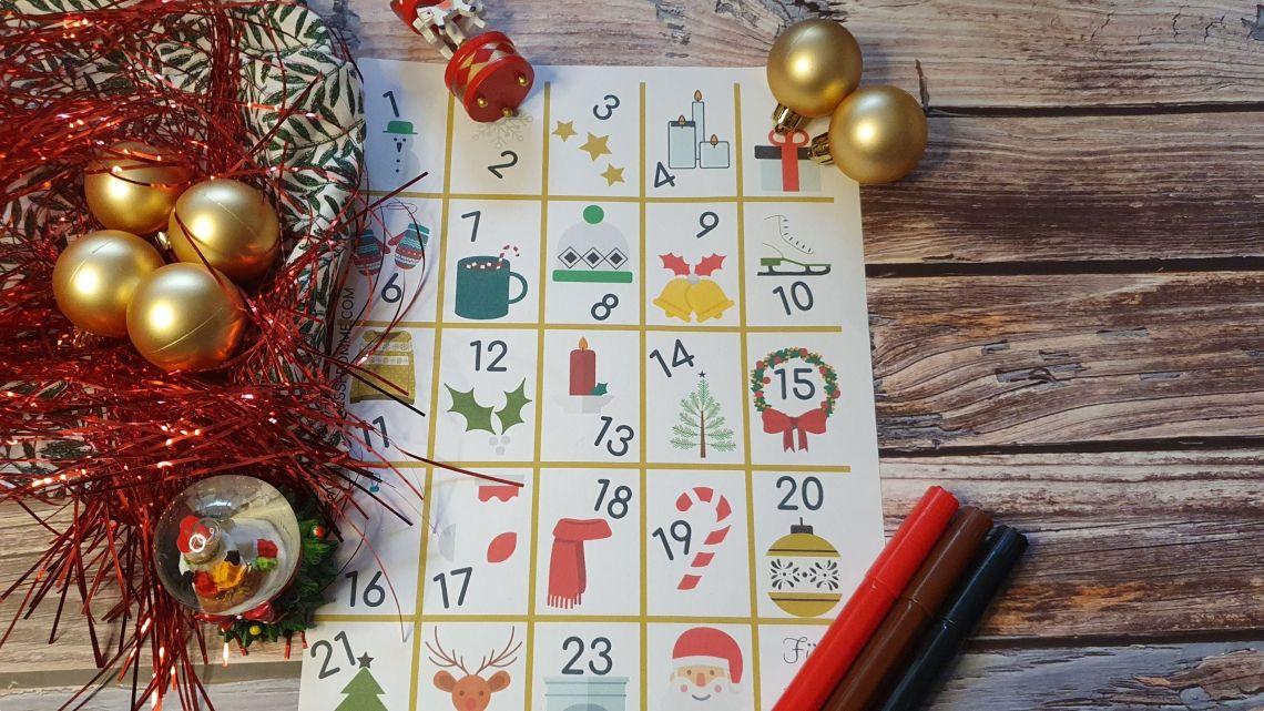 Adventkalender Doeboek
