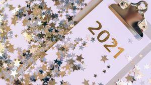 Gelukkig Nieuwjaar & Goede Voornemens 2021