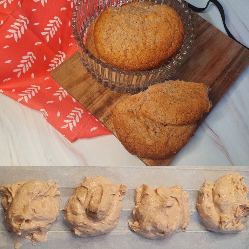 Frambozen-Limoen koekjes
